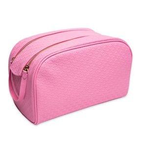 Jeffree Star Baby Pink Double Zip makeup bag